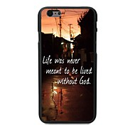 Live With Out God Design Hard Case for iPhone 6 Plus