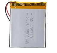 - Batterie - 435770P - Li-Polymer - 2500mAh - mAh