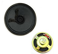 Jtron 8Ohm 0.5W Outside Magnetic Speaker - Black + Bronze (57mm)