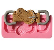 Fashion Belt Buckle Chocolate Mold Fondant Cake Molds Soap Chocolate Mould For The Kitchen Baking