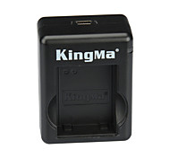 KINGMA USB Dual Battery Charger for GoPro Hero 3/3+ and AHDBT-201 / 301 / 302 - Black