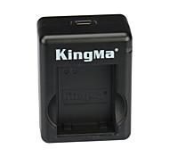 cargador de batería dual kingma usb para GoPro Hero 3/3 + y AHDBT-201/301/302 - negro