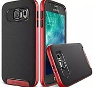 Teléfono Móvil Samsung - Cobertor Posterior/Contra Golpes - Color Sólido/Diseño Especial - para Samsung Samsung Galaxy S6 (