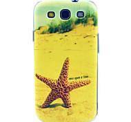 Strand Seesterne tpu weiche Tasche für Samsung i9300 Galaxy S3