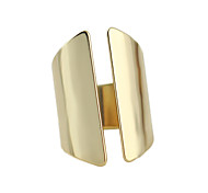 Chunky Fashion Gold Plated Ring