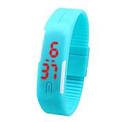 orologi di sport di materiale elastico di silicone orologio da uomo