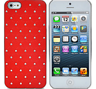 Protective ABS Plastic Case for Iphone 5 - Red
