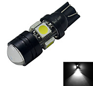 Luces Decorativas T10 3 W 5 SMD 5050 250-280lm LM Blanco Fresco DC 12 V