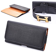 Universal Clip Buckle Embossed Up and Down to Open the Lateral Plate Pockets for iPhone 6
