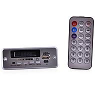Navo 3.7~5V Bluetooth MP3 Decoder Board w/ FM / Stereo Amplifier - Silver