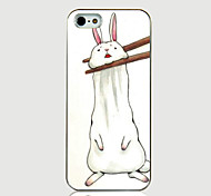 Clip Rabbit Pattern Back Case for iPhone5/5S