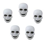 Colorful Skull Style Night Light Halloween Decoration Lamp (5 PCS)