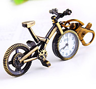 Women's Leisure Bicycle Shape Round Dial Keychain Watch Cool Watches Unique Watches