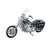 DIY Motorcycle Shaped 3D Puzzle