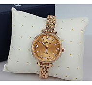 Women's Watch Fashion Quartz Wristwatch Steel Band Material The Surface of The Diamond