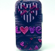 Love Gift Box Pattern Soft Case for Samsung Galaxy S3 Mini I8190