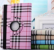Scotland Grid Pattern PU Leather 360⁰ Cases/Smart Covers  for iPad mini 3/iPad mini 2 (Assorted Colors)