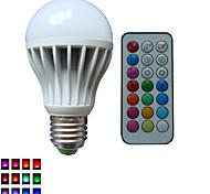 1pcs e26 / e27 / b22 10w 3x High Power LED dimmbar / ferngesteuert / dekorative Kugelbirnen ac85-265v