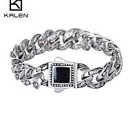Kalen 2015 Design Fashion Jewelry Men's Jewelry Famous Brand Men's Bracelet
