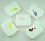 cas belle cupidon bonbons élégant en plastique de couleur des lentilles de cantact (couleur aléatoire)