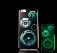 Magnetic tape Pattern Glow in the Dark Cover for iPhone 6 Plus Case