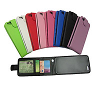 Solid Color Full Body PU Leather Case with Card Slot and Wallet Function for iPhone 6(Assorted Colors)