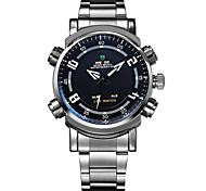Men's sports LED luminous waterproof multifunction watch(Assorted Colors)