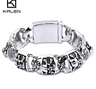 Kalen Men's Jewelry Nice Wholesale Custome Special Stainless Steel Bracelet