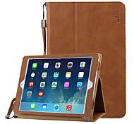 ACaso compatibles diseño folio de la PU de cuero cubiertas inteligentes especiales para Ipad Air