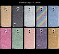 Full-length Bling Glitter Body Sticker for Samsung Note 4