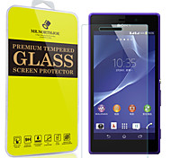 Mr.northjoe® Tempered Glass Film Screen Protector for Sony Xperia M2
