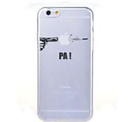 съемки картины износа яблоко TPU мягкий чехол для iphone 6с 6 плюс