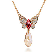 HUALUO®Korean Fashion Butterfly Pendant pendant Necklace