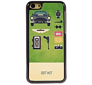 007 Kit Design Aluminum Hard Case for iPhone 5C