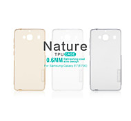 NILLKIN Nature Series Ultra Thin Transparent TPU Case for Samsung Galaxy E7(E700