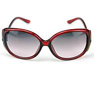Gradiente de gran tamaño de color gafas de sol UV400 del 100% de las mujeres
