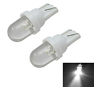 0.5W T10 Luces Decorativas 1 30-50lm lm Blanco Fresco DC 12 V 2 piezas
