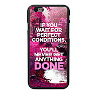 Unique Done Design PC Hard Case for iPhone 6 Plus