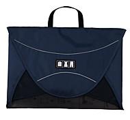 "Unisex's Casual Hexagon Check Polyester Travel Shirt Packing Folder 19"""