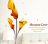 Sweet Callas PVC Wall Stickers Wall Art Decals