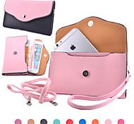 pacchetto universale cuccetta trasversale colore diagonale per iphone4 / 4s iphone5 / 5s iPhone6 iPhone6 più iphone5c (colori