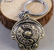 Euner® Hot Online Game Dota 2 Immortal Scudetto Shield Keychain toy