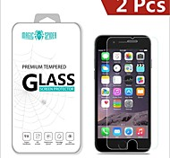 Magic Spider®0.2mm 2.5D Private Brand Damage Protection Tempered Glass Screen Protector for iPhone 6S/6(2PCS)