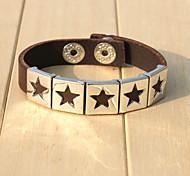 2015 Fashion Star Leather Bracelet
