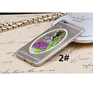 materiale plastico amore stile abito da sposa per iphone 6 più (colori assortiti)