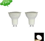 2 Stück FRANLITE Spot Lampen MR16 GU10 7 W 550 LM 3000 K 15 SMD 2835 Warmes Weiß AC 220-240 V