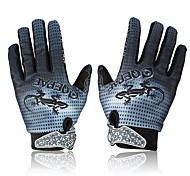 Cycling Gloves Full Finger Bike Bicycle Anti-Slip Breathable Gecko Pattern Gloves Size(M/L/XL)