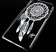 dreamcatcher padrão caso de volta transparente para iphone 6