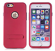 apple iphone 6 plus, tpu + pc apple protettiva iphone 6 più copertura di caso per apple iphone 6plus (colori assortiti)