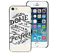 Done Perfect Design PC Hard Case for iPhone I4